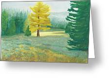 Tamarack Greeting Card