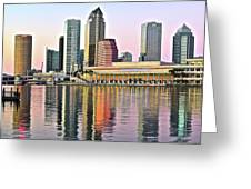 Tampa Bay Alive With Color Greeting Card