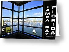Tampa Bay Florida Greeting Card