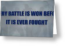 Tampa Bay Lightning Battle Greeting Card