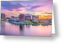 Tampa Bay Panorama  Greeting Card