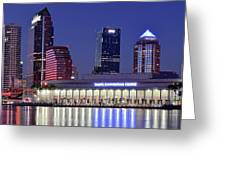 Tampa Convention Center Greeting Card