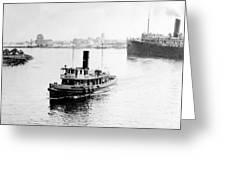Tampa Florida - Harbor - C 1926 Greeting Card