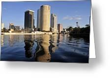 Tampa Florida 2010 Greeting Card