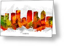 Tampa Florida Cityscape 15 Greeting Card