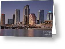 Tampa Florida  Greeting Card