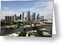 Tampa Florida Landscape Greeting Card