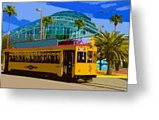 Tampa Trolley Greeting Card