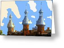 Tampa's Minarets Greeting Card