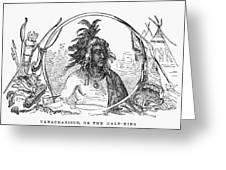 Tanacharison (c1700-1754) Greeting Card