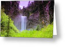 Tananamawas Falls  Greeting Card