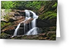 Upper Dill Falls Greeting Card