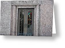 Tandy Greeting Card
