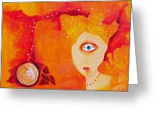 Tangerine Dream Greeting Card