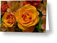 Tangerine Kisses Greeting Card