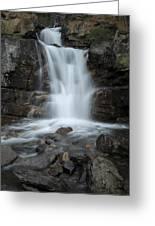 Tangle Creek Falls, Alberta, Canada Greeting Card