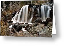 Tangle Falls Closeup 5 Greeting Card