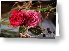 Tangled On Driftwood Greeting Card