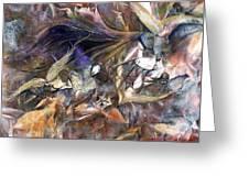 Tango Birds Greeting Card