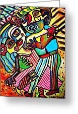 Tango Dance Of Love Greeting Card