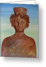 Tanit Mythical Godess Of Ibiza  Greeting Card