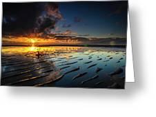 Tanjung Aru Beach Greeting Card
