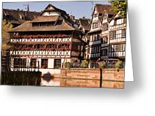 Tanners House Strasbourg Greeting Card