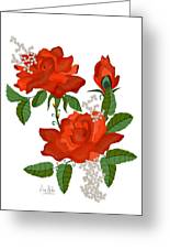 Tanners Rose Greeting Card