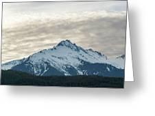 Tantalus Mountain Range Closeup Greeting Card