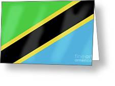 Tanzania Flag Greeting Card