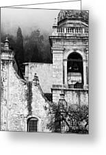 Taormina Church Detail Greeting Card