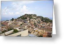 Taormina View II Greeting Card