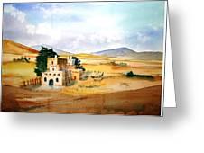 Taos Adobe Greeting Card
