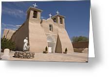 Taos Landmark Greeting Card