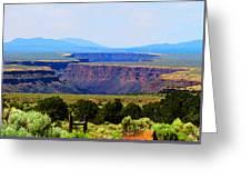 Taos Mountain Glory Greeting Card