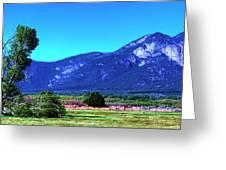 Taos Mountains Greeting Card