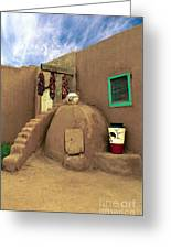 Taos Oven Greeting Card