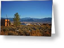Taos Valley Greeting Card