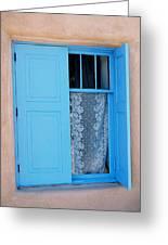 Taos Window Greeting Card