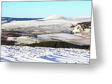 Tap O'noth Panorama Greeting Card