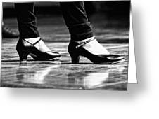 Tap Shoes Greeting Card by Lauri Novak