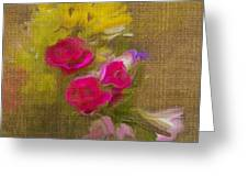 Tapestry Bouquet Greeting Card