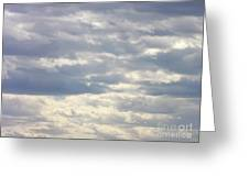 Tapestry In The Sky Greeting Card