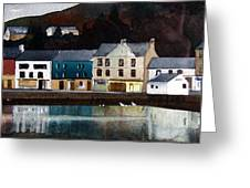 Tarbert Reflections Greeting Card