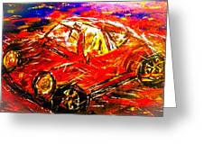 Targa Greeting Card