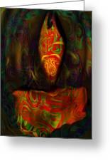 Tarot Candle Greeting Card