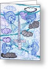 Tarot Of The Younger Self Ace Of Swords Greeting Card