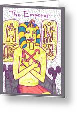 Tarot Of The Younger Self The Emperor Greeting Card