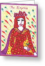 Tarot Of The Younger Self The Empress Greeting Card