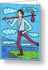 Tarot Of The Younger Self The Fool Greeting Card